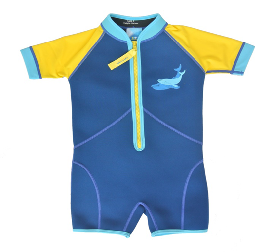 Sun Protection Swimwear For Toddlers Fasten Easy Magnet